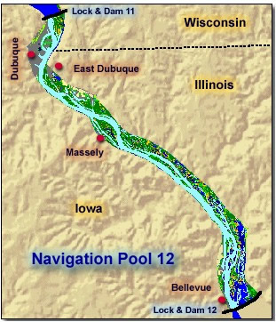 Mississippi River Pools All Maps Provided By U S Geological Survey Department Of The Interior Usgs U S Geological Survey