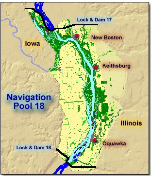 Fishing in illinois mississippi pool maps for Buy illinois fishing license online