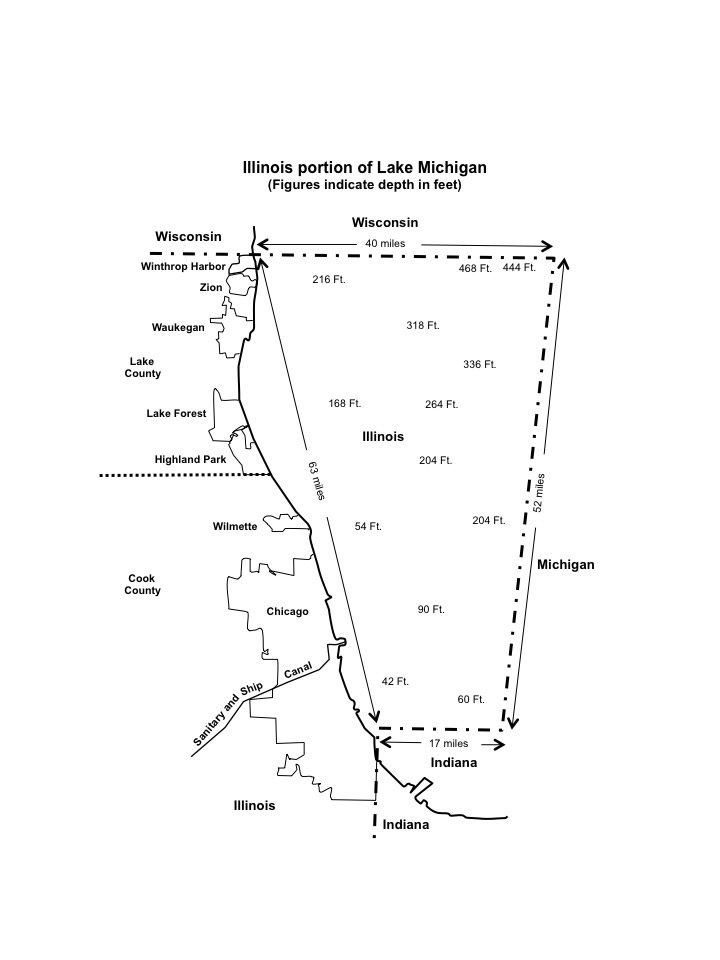 I Fish Illinois  Lake Michigan